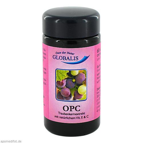 OPC 100% Premium Vegikaps Globalis Violettglas, 60 ST, Globalis - Oase der Natur