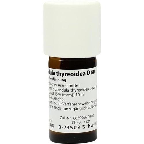 GLANDULA THYREOIDEA D 60 Dilution, 20 ML, WELEDA AG