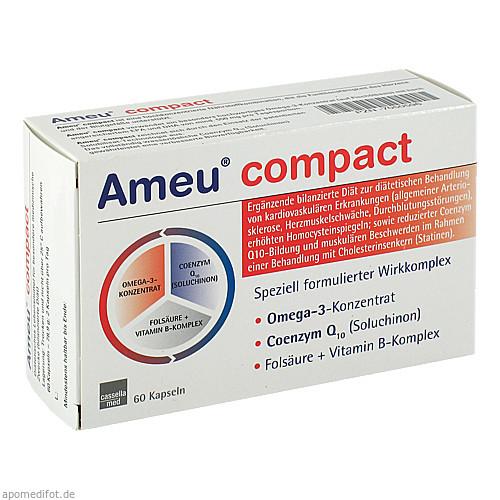 Ameu compact Kapseln, 60 ST, MCM KLOSTERFRAU Vertr. GmbH