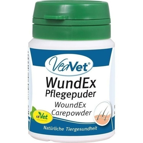 WundEx Pflegepuder vet, 15 G, cdVet Naturprodukte GmbH