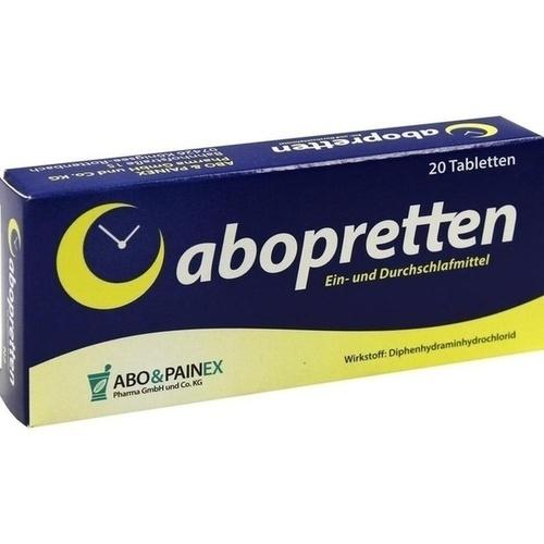 Abopretten, 20 ST, Abo & Painex Pharma GmbH & Co. KG