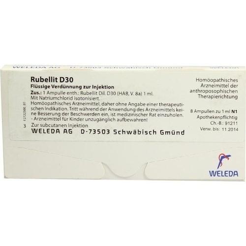 Rubellit D30, 8 ST, Weleda AG