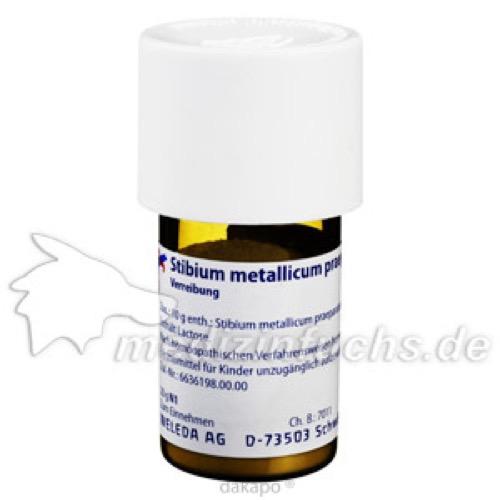 STIBIUM METALLICUM PRAEPARATUM D 30 Trituration, 20 G, WELEDA AG