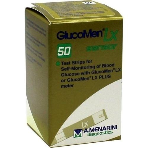 Glucomen LX Sensor Teststreifen, 50 ST, kohlpharma GmbH