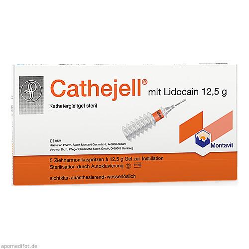 Cathejell Lidocain C steriles Gleitgel ZHS 12.5g, 5 ST, Dr. Pfleger Arzneimittel GmbH