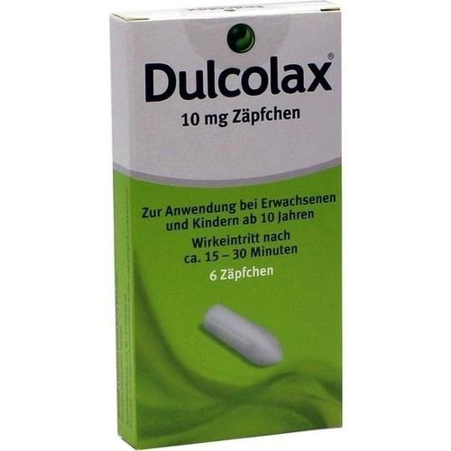 Dulcolax Suppositorien, 6 ST, Pharma Gerke Arzneimittelvertriebs GmbH