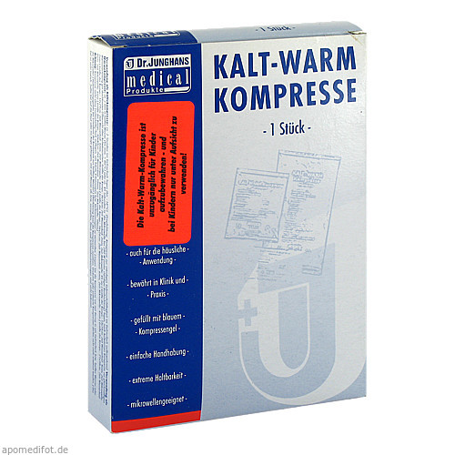 KALT-WARM Kompresse 16x26 cm, 1 ST, Dr. Junghans Medical GmbH