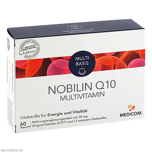 NOBILIN Q 10 MULTIVITAMIN, 60 ST, Medicom Pharma GmbH
