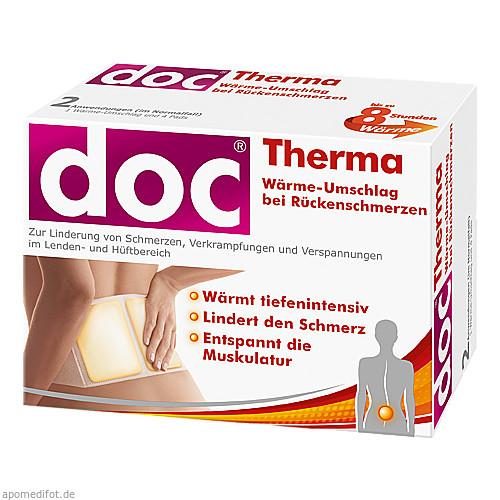 Doc Therma Wärme-Umschlag bei Rückenschmerzen, 2 ST, Hermes Arzneimittel GmbH