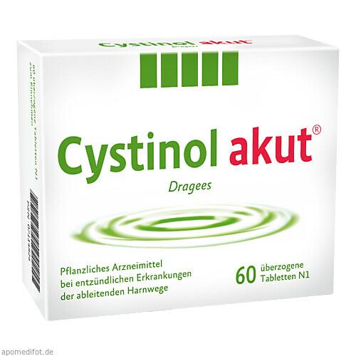 Cystinol akut Dragees, 60 ST, Schaper & Brümmer GmbH & Co. KG