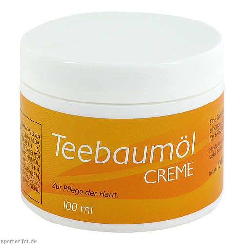 Teebaum-Creme mit Propolis, 100 ML, Allcura Naturheilmittel GmbH