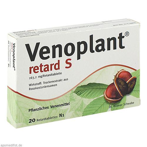 Venoplant retard S, 20 ST, Dr.Willmar Schwabe GmbH & Co. KG