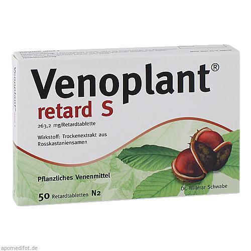 Venoplant retard S, 50 ST, Dr.Willmar Schwabe GmbH & Co. KG