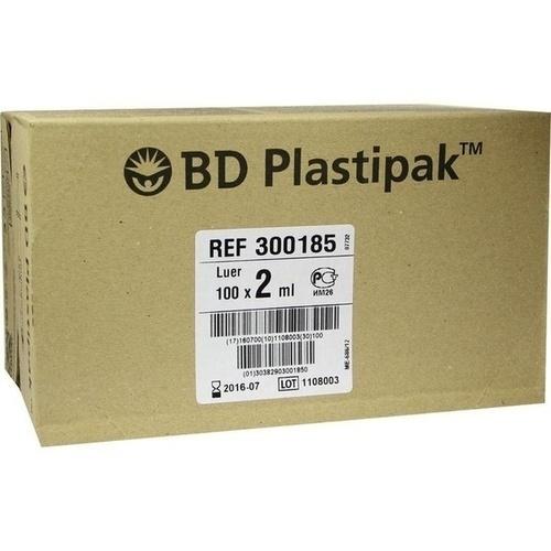 BD PLASTIPAK LUER, 100X2 ML, Becton Dickinson GmbH