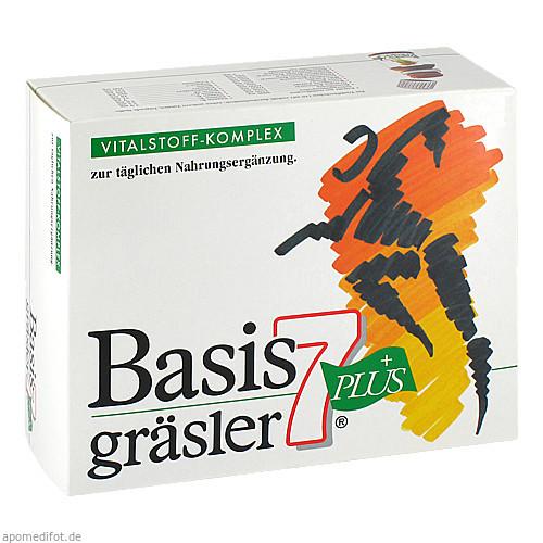 BASIS 7 gräsler plus Trinkfläschchen, 30X10 ML, sanoctua GmbH & Co. KG