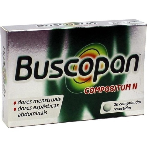 Buscopan plus Filmtabletten, 20 ST, Pharma Gerke Arzneimittelvertriebs GmbH