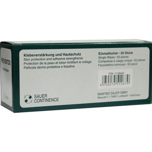 PREVENTOX EINMALTUECHER 5050, 50 ST, Manfred Sauer GmbH