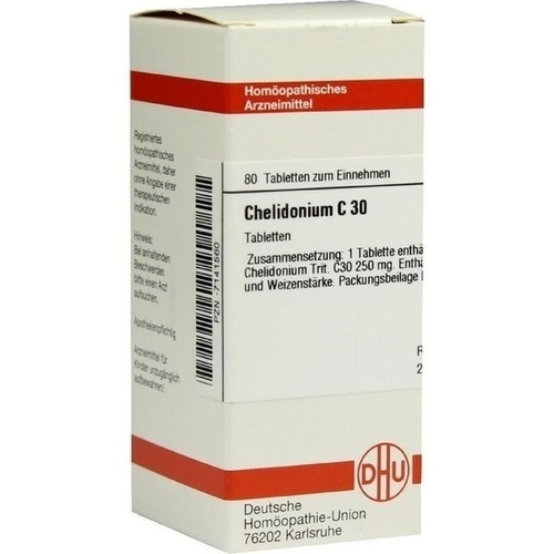 CHELIDONIUM C30, 80 ST, Dhu-Arzneimittel GmbH & Co. KG