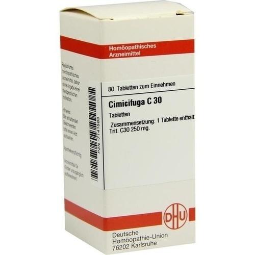CIMICIFUGA C30, 80 ST, Dhu-Arzneimittel GmbH & Co. KG