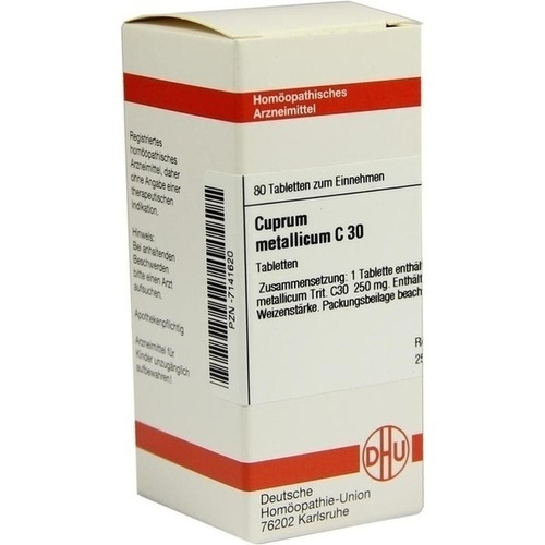 CUPRUM MET C30, 80 ST, Dhu-Arzneimittel GmbH & Co. KG