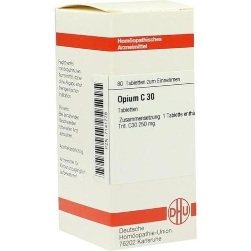 OPIUM C30, 80 ST, Dhu-Arzneimittel GmbH & Co. KG