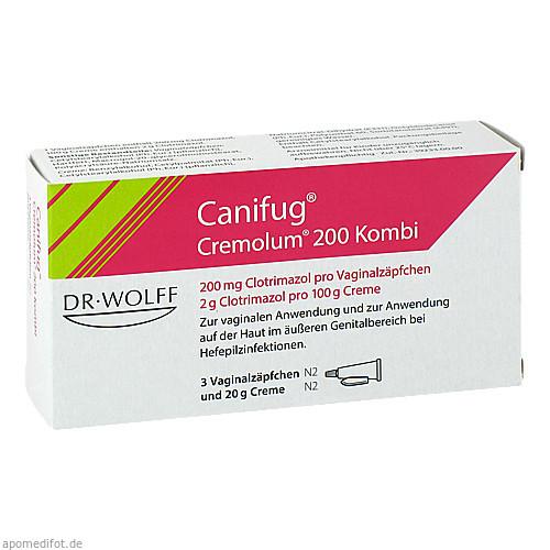 Canifug Cremolum 200 3+20 g, 1 P, Dr. August Wolff GmbH & Co. KG Arzneimittel