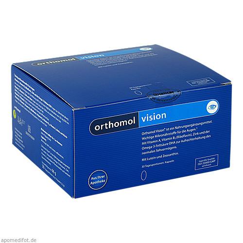Orthomol Vision, 30 ST, Orthomol Pharmazeutische Vertriebs GmbH