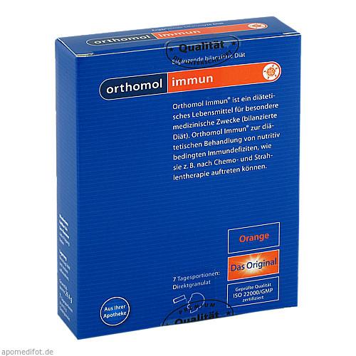 Orthomol Immun Direktgranulat Orange, 7 ST, Orthomol Pharmazeutische Vertriebs GmbH