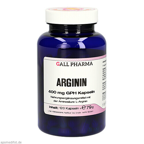Arginin 400mg GPH Kapseln, 120 ST, Hecht-Pharma GmbH