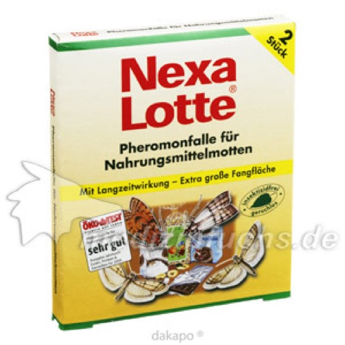 NEXA LOTTE NATUR PHEROMONFALLE FUER NAHRUNGSM MOTT, 2 ST, Evergreen Garden Care Deutschland GmbH