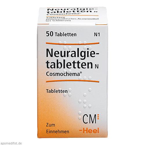 NEURALGIETABLETTEN N COSMOCHEMA, 50 ST, Biologische Heilmittel Heel GmbH