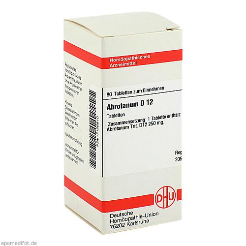 ABROTANUM D12, 80 ST, Dhu-Arzneimittel GmbH & Co. KG