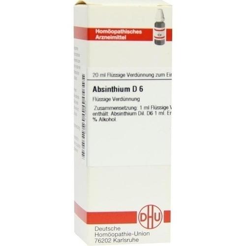 ABSINTHIUM D 6, 20 ML, Dhu-Arzneimittel GmbH & Co. KG
