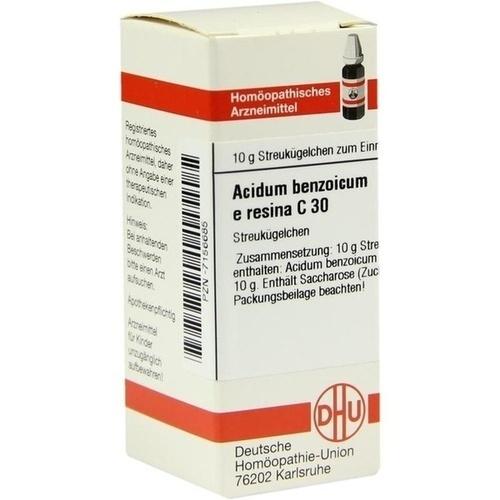 ACIDUM BENZOIC E RES C30, 10 G, Dhu-Arzneimittel GmbH & Co. KG