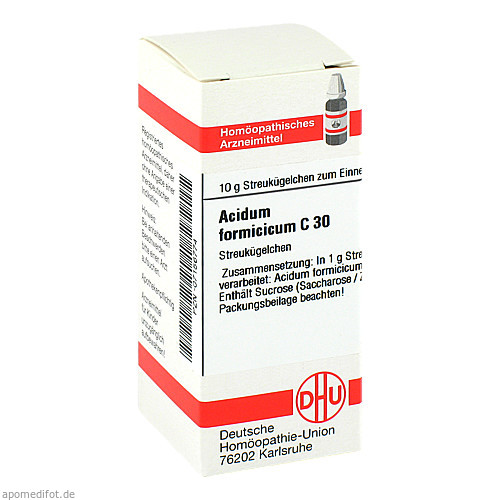 ACIDUM FORMICICUM C30, 10 G, Dhu-Arzneimittel GmbH & Co. KG