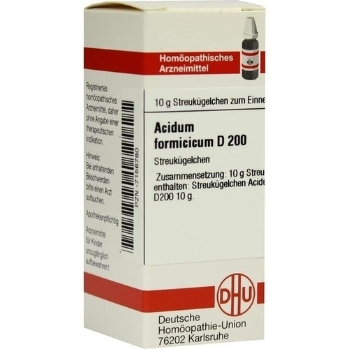 ACIDUM FORMICICUM D200, 10 G, Dhu-Arzneimittel GmbH & Co. KG