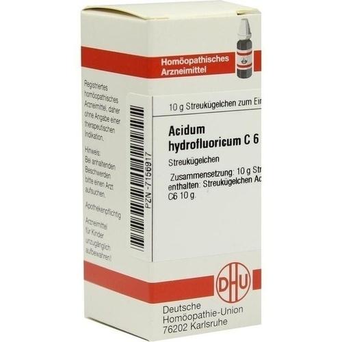 ACIDUM HYDROFLUOR C 6, 10 G, Dhu-Arzneimittel GmbH & Co. KG