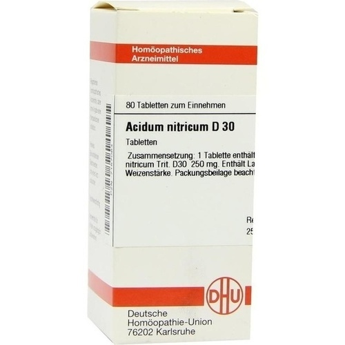 ACIDUM NITR D30, 80 ST, Dhu-Arzneimittel GmbH & Co. KG