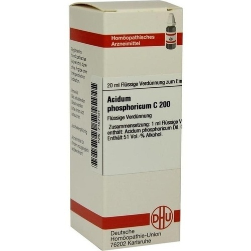 ACIDUM PHOS C200, 20 ML, Dhu-Arzneimittel GmbH & Co. KG