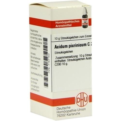 ACIDUM PICRINICUM C200, 10 G, Dhu-Arzneimittel GmbH & Co. KG