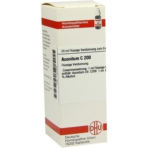 ACONITUM C200, 20 ML, Dhu-Arzneimittel GmbH & Co. KG