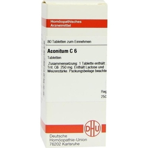 ACONITUM C 6, 80 ST, Dhu-Arzneimittel GmbH & Co. KG