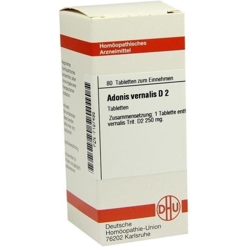 ADONIS VERNALIS D 2, 80 ST, Dhu-Arzneimittel GmbH & Co. KG