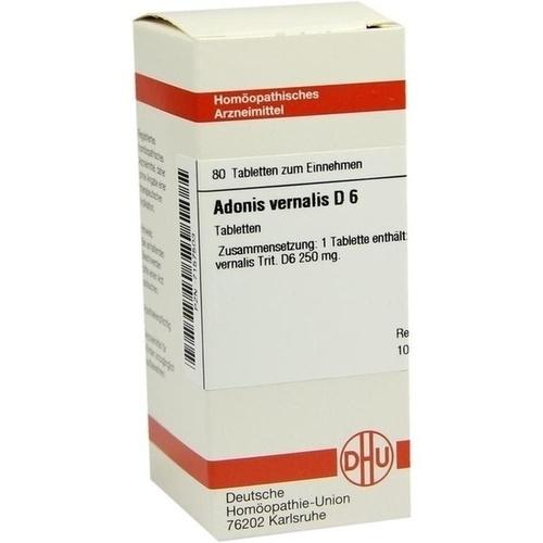 ADONIS VERNALIS D 6, 80 ST, Dhu-Arzneimittel GmbH & Co. KG