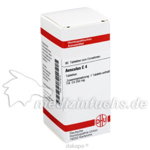 AESCULUS C 4, 80 ST, Dhu-Arzneimittel GmbH & Co. KG