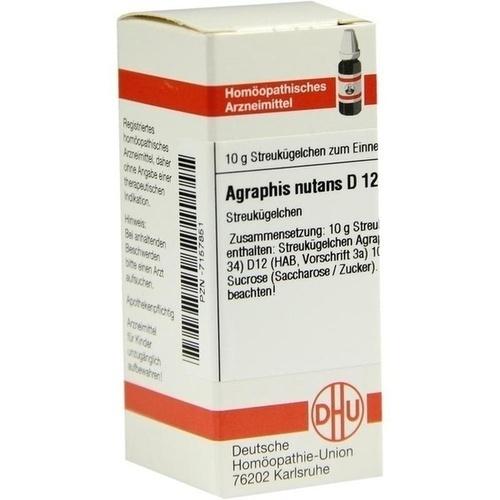 AGRAPHIS NUTANS D12, 10 G, Dhu-Arzneimittel GmbH & Co. KG