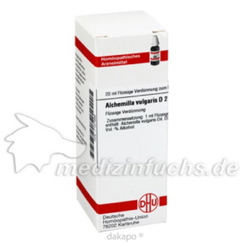 ALCHEMILLA VULG D 2, 20 ML, Dhu-Arzneimittel GmbH & Co. KG