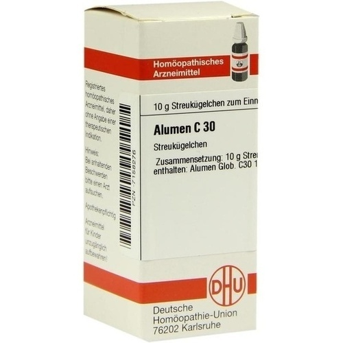 ALUMEN C30, 10 G, Dhu-Arzneimittel GmbH & Co. KG