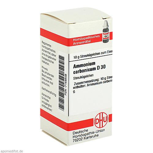AMMONIUM CARB D30, 10 G, Dhu-Arzneimittel GmbH & Co. KG