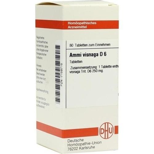 AMMI VISNAGA D 6, 80 ST, Dhu-Arzneimittel GmbH & Co. KG